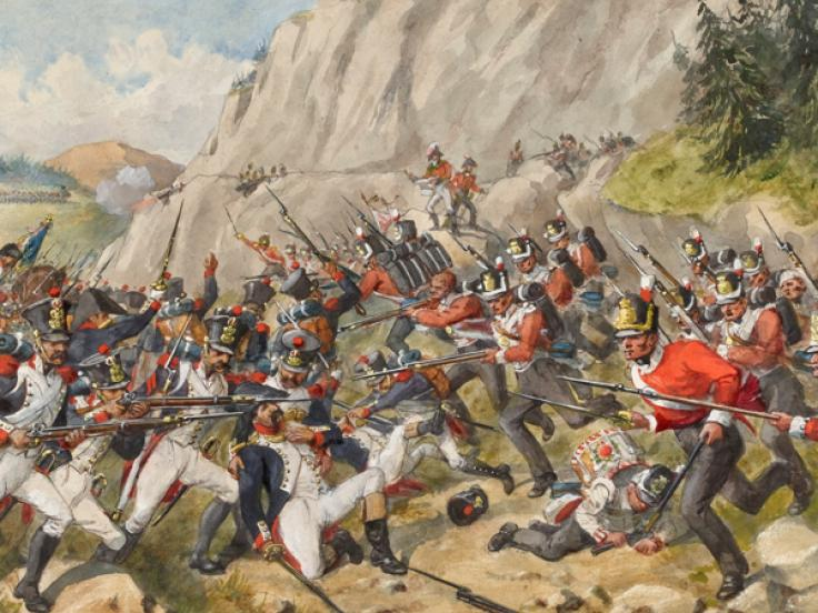 The Battle of Busaco, 27 September 1810
