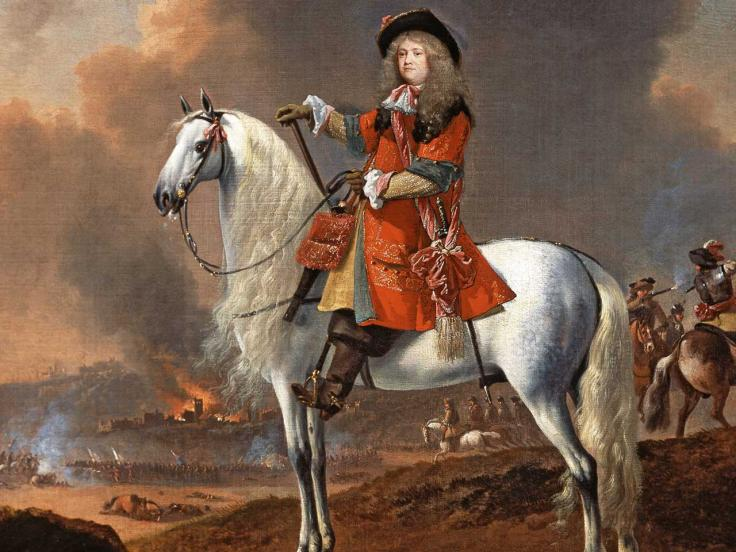 Lieutenant-Colonel Randolph Egerton, The King's Troop of Horse Guards, c1672