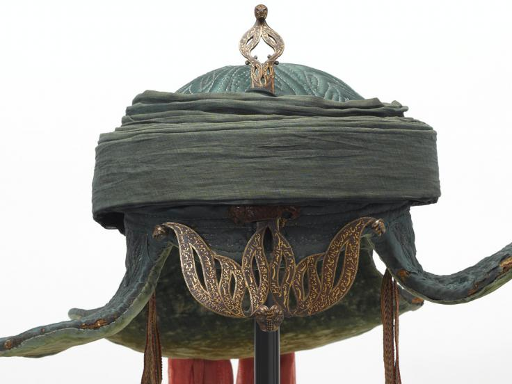 Tipu Sultan's war turban taken during the capture of Seringapatam in 1799
