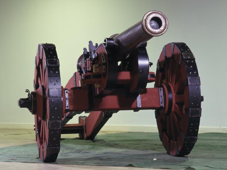 Bronze saker gun, 1530s