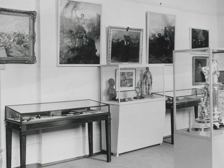 Hastings Room, Victoria Cross and George Cross exhibition, 1962