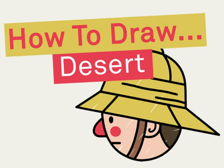 How to Draw: Desert edition