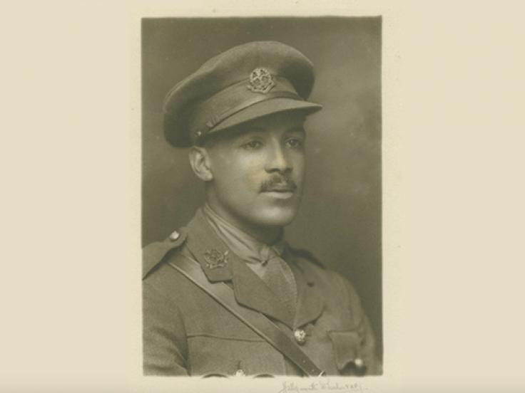 Portrait of Walter Tull