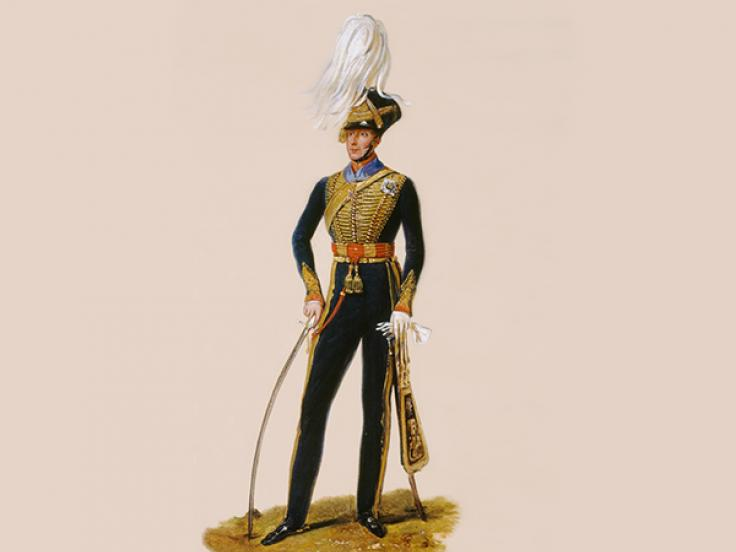 Lieutenant General Sir Thomas Downman, KCH, Royal Horse Artillery, c1832