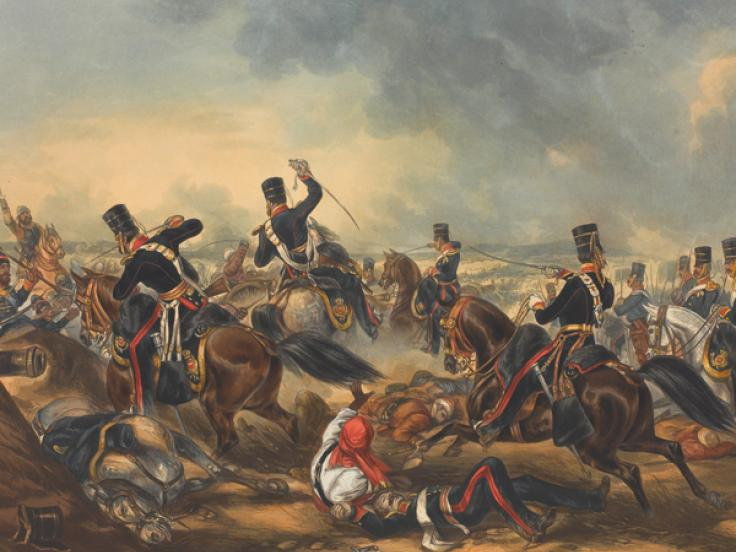 The 3rd Light Dragoons at Ferozeshah, 21 December 1845