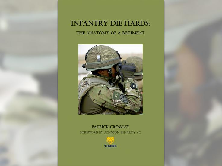 'Infantry Die Hards' book cover