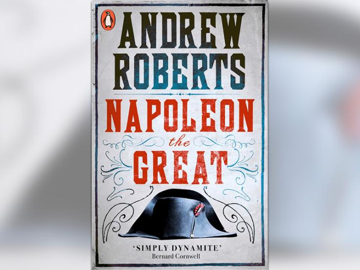 'Napoleon the Great' book cover