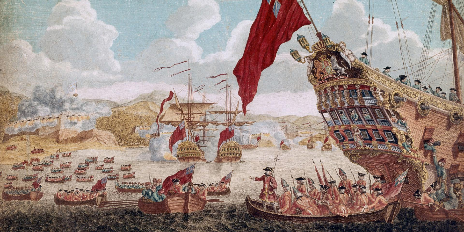 The Capture of Louisbourg, 1745