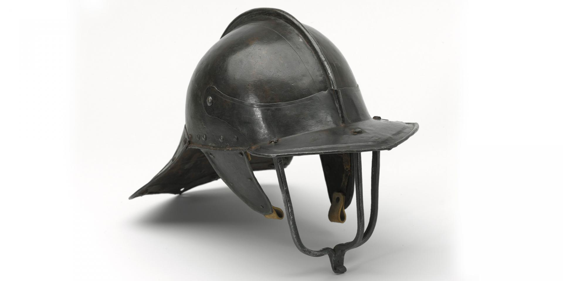 Light cavalryman's lobster pot helmet, 1640