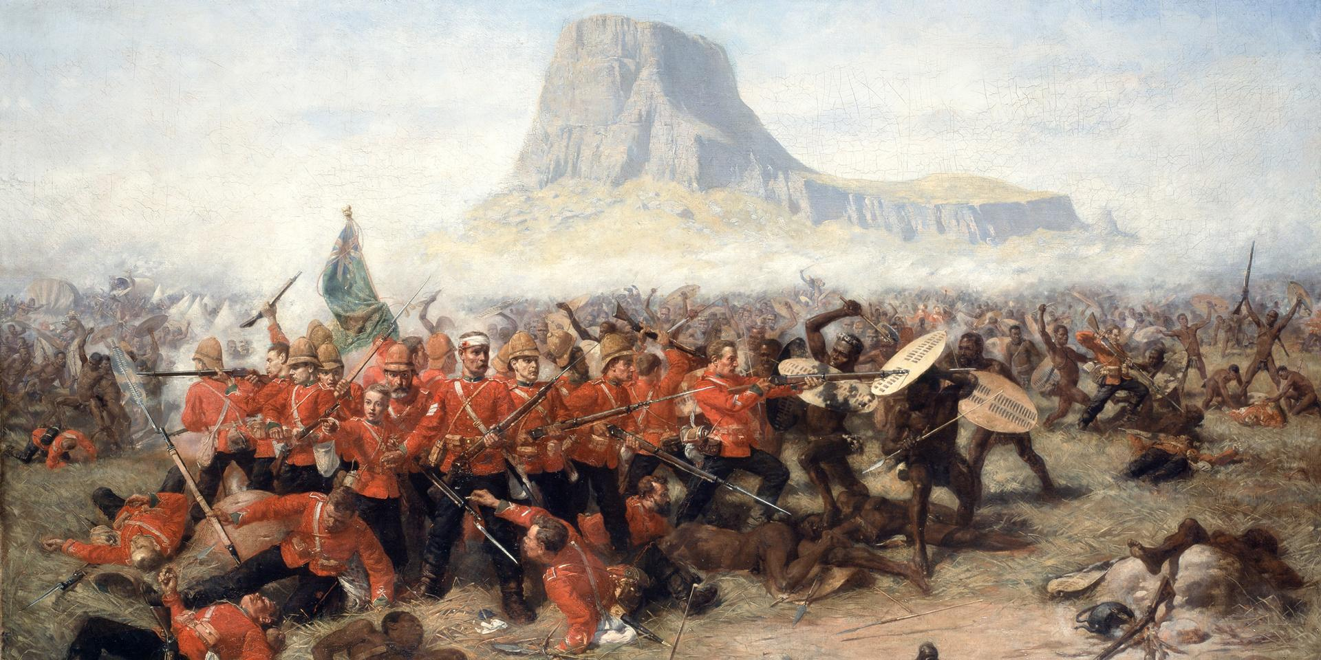 The Battle of Isandlwana after conservation