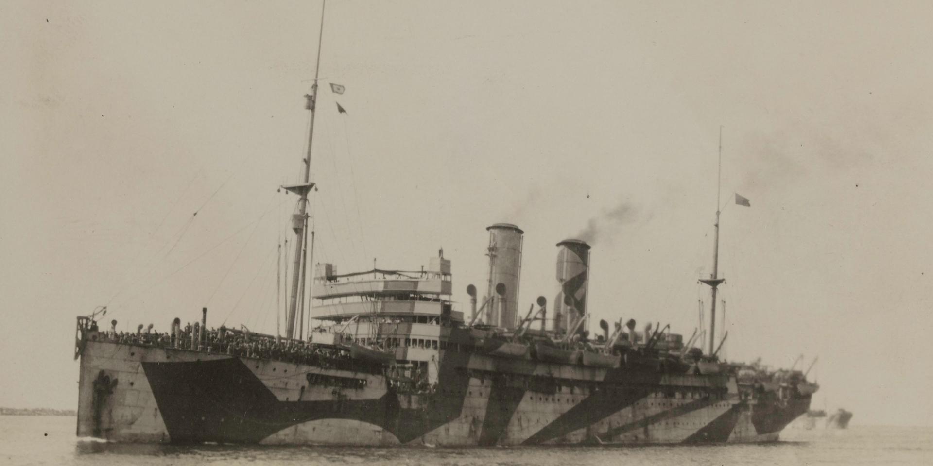 Troopship, 1916