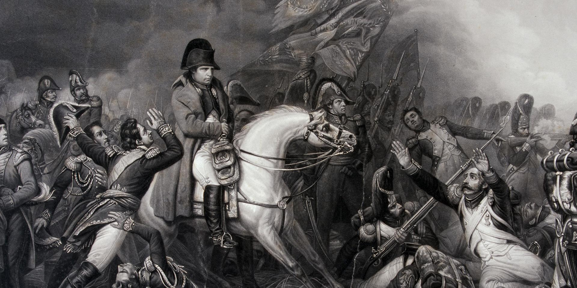 Napoleon at Waterloo, 1815