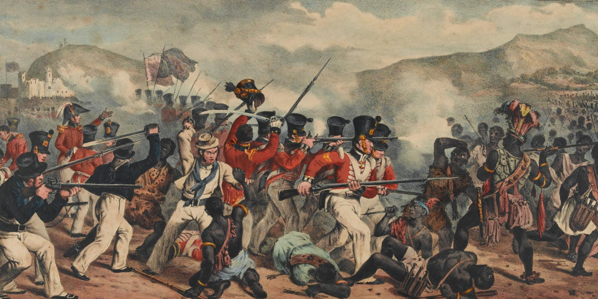 Defeat of the Ashantees, 1824