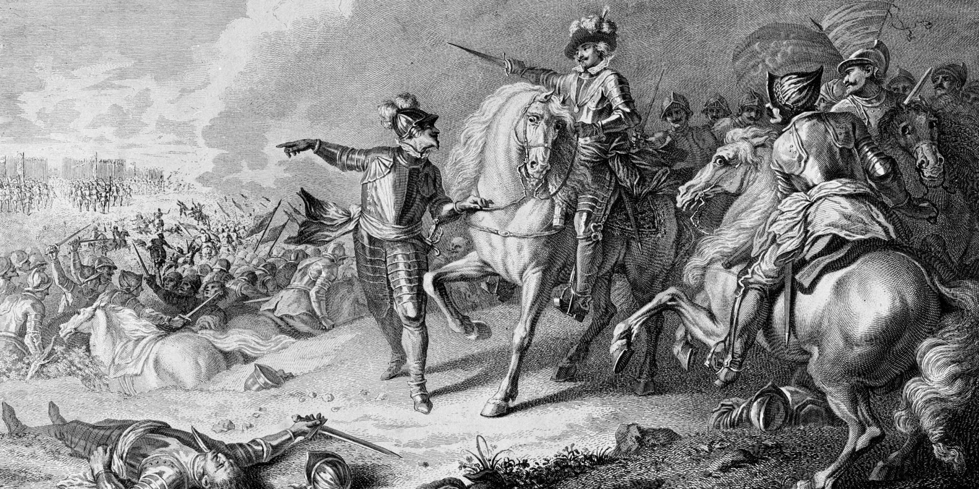 The Battle of Naseby, 14 June 1645