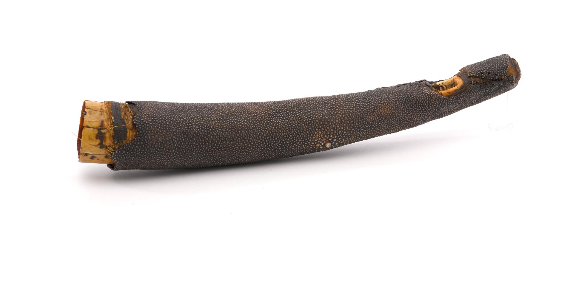 Ashanti war trumpet, 1824