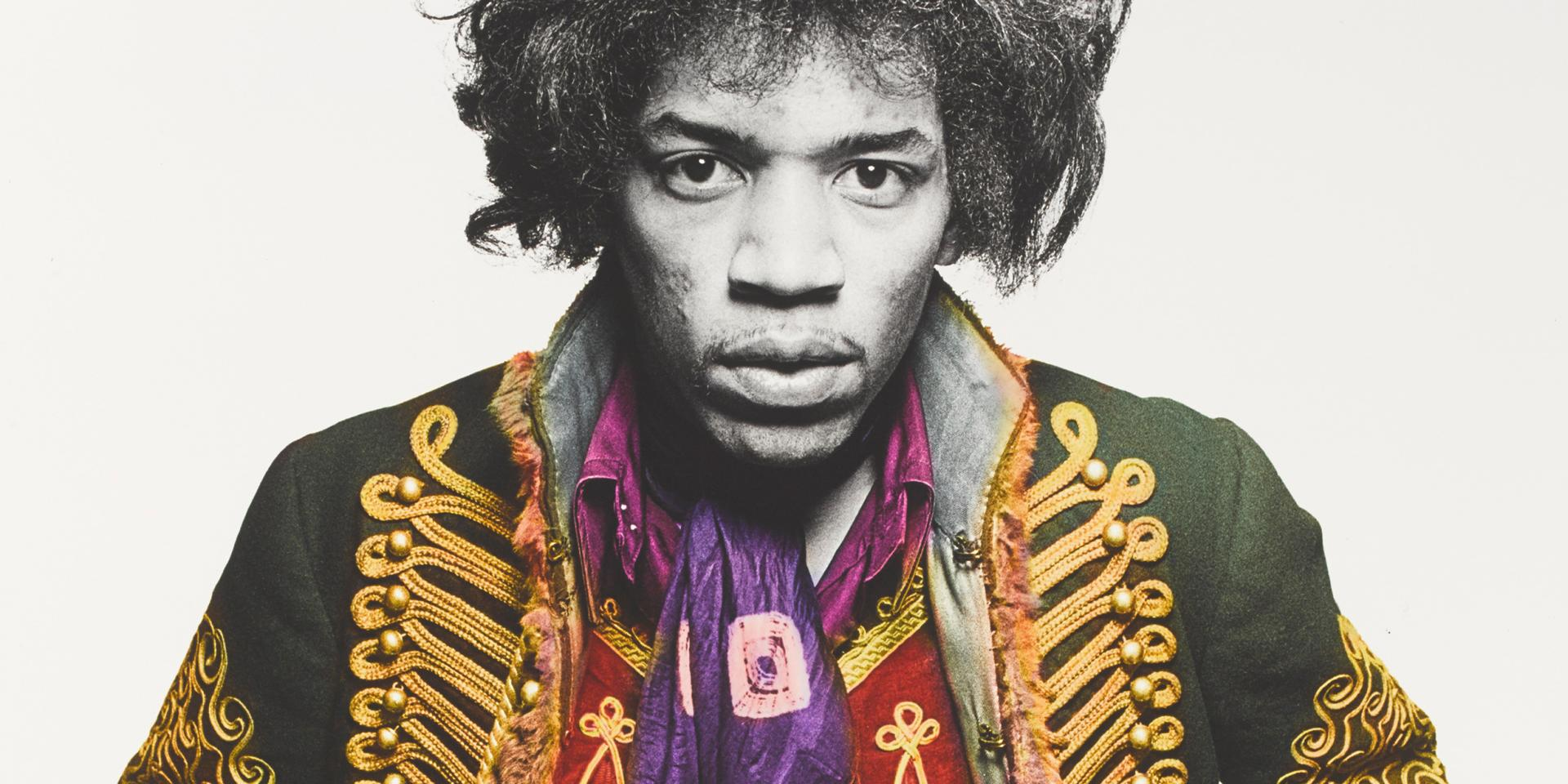 Jimi Hendrix photographed by Gered Mankowitz, 1967