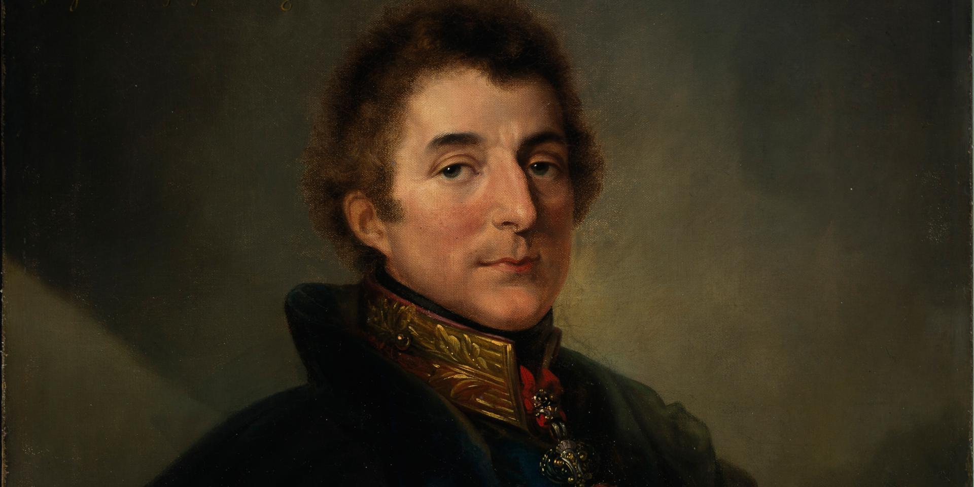 Field Marshal Arthur Wellesley, 1st Duke of Wellington by Peter Edward Stroehling, 1820