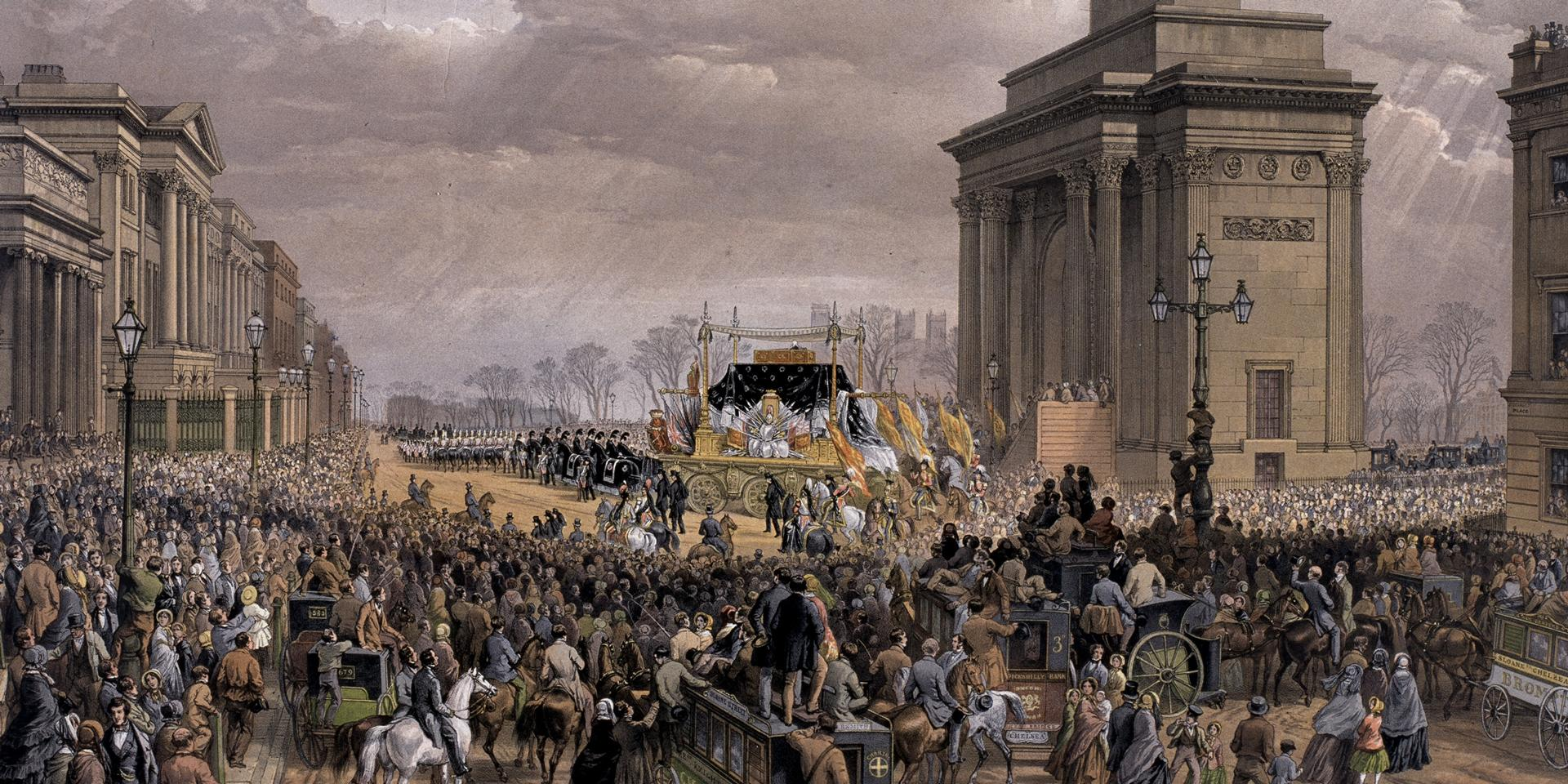 Funeral of the Duke of Wellington,  1852