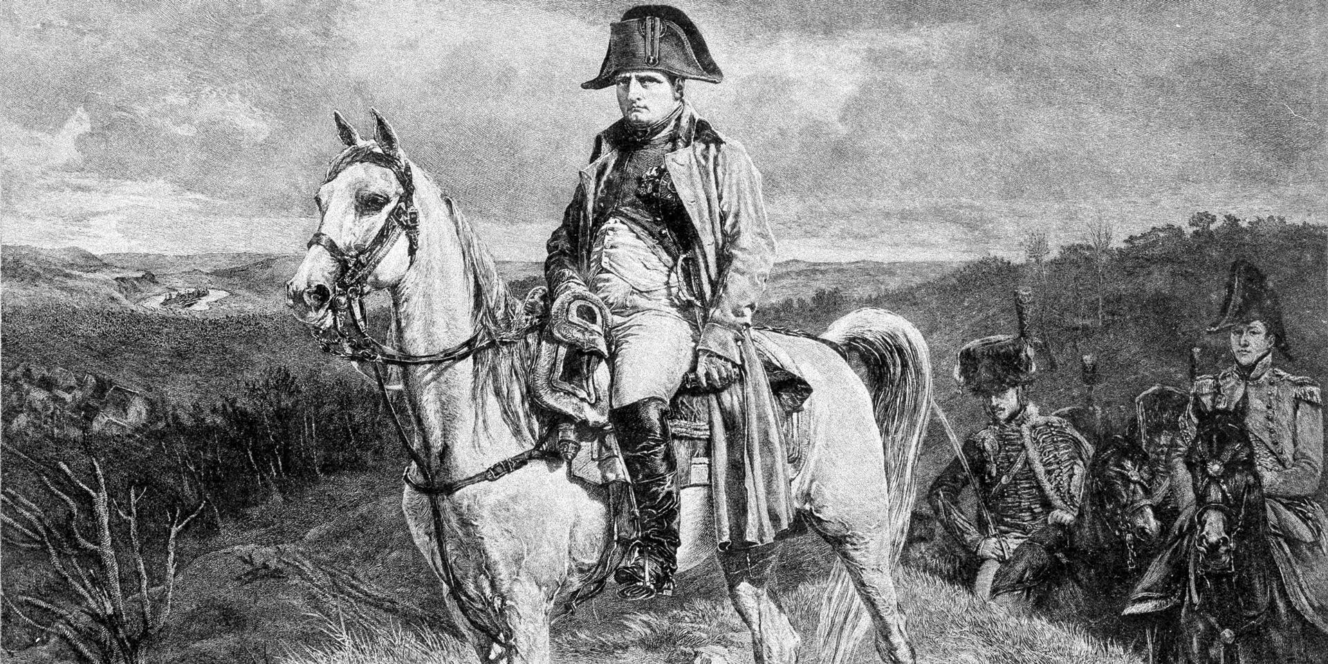Napoleon on Marengo