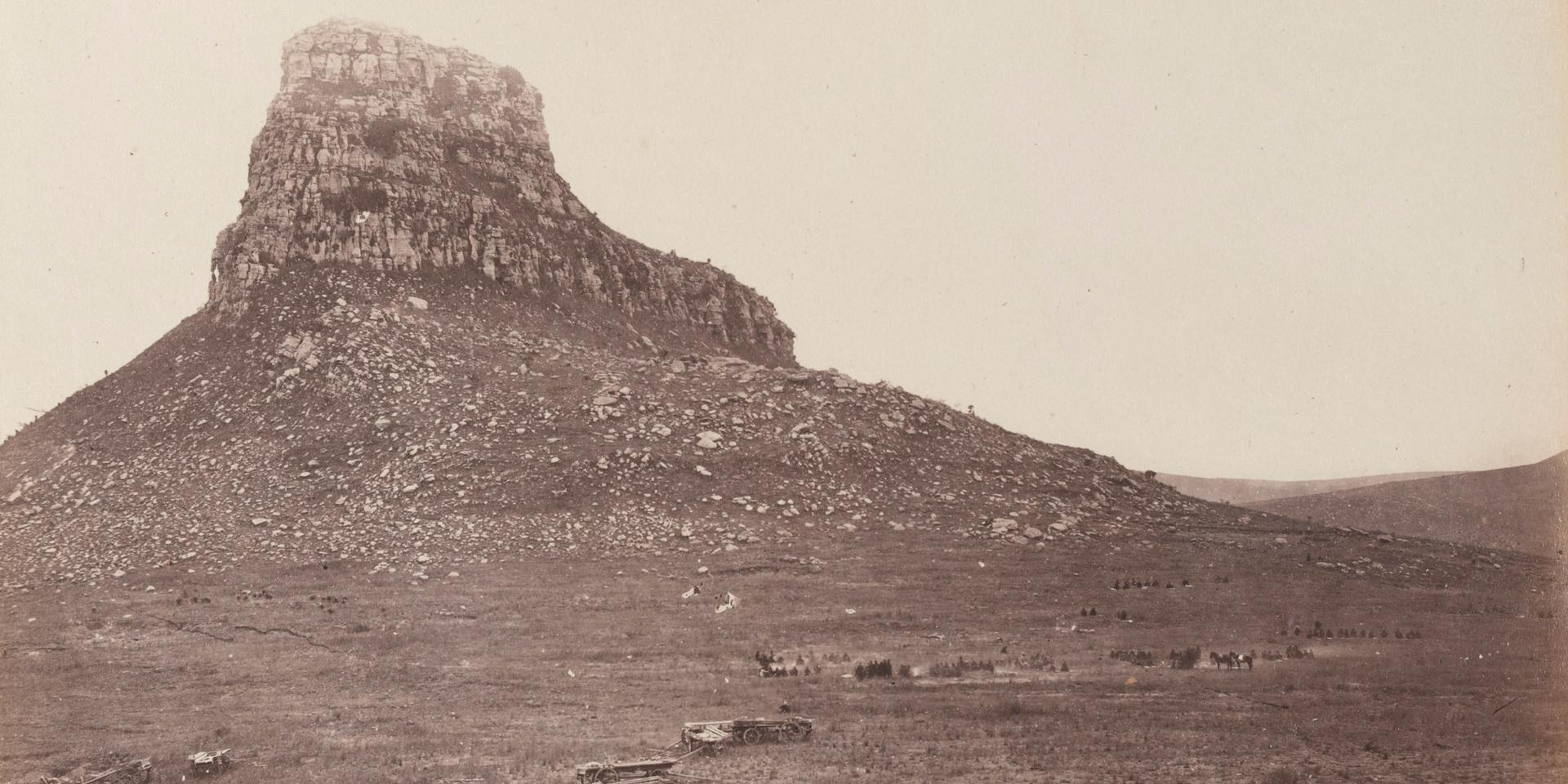Isandlwana battlefield photographed,  June 1879