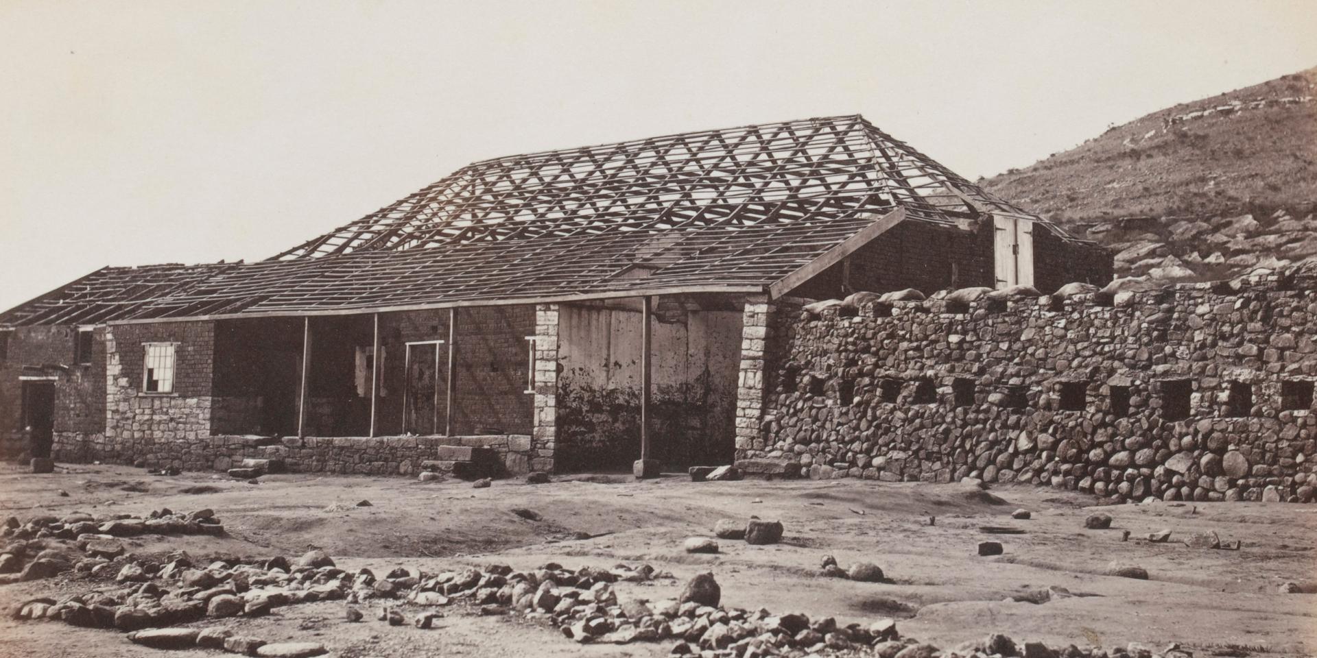 Storehouse at Rorke's Drift, June 1879