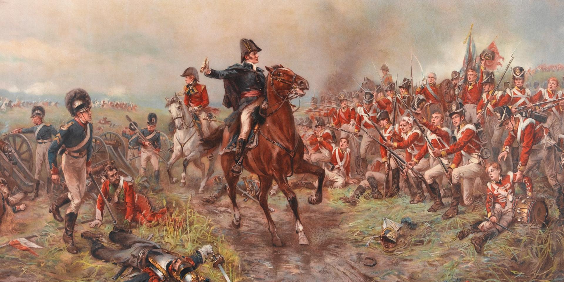 Wellington at Waterloo, 1815
