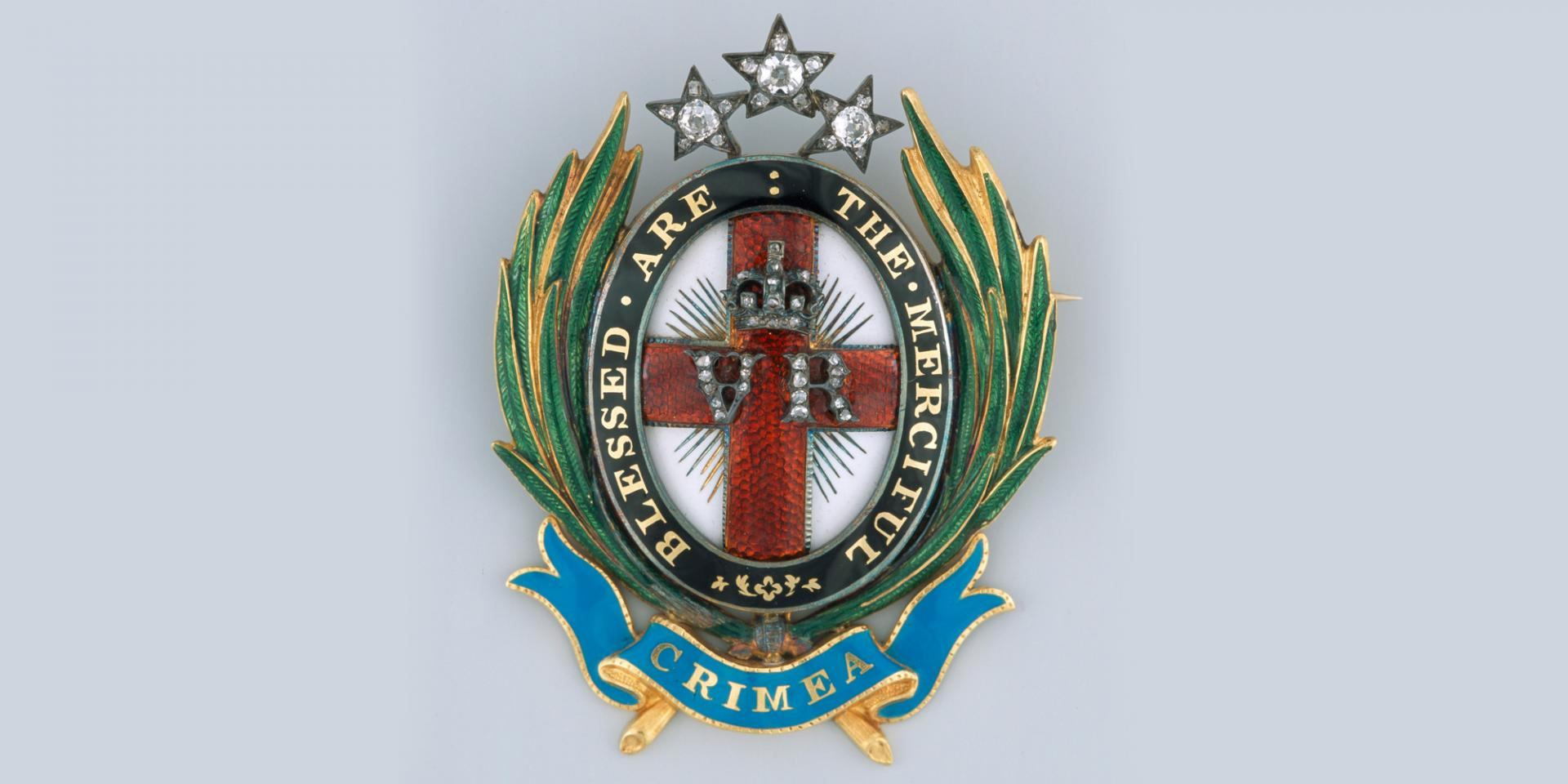 The Nightingale Jewel brooch given to Florence Nightingale by Queen Victoria in 1855