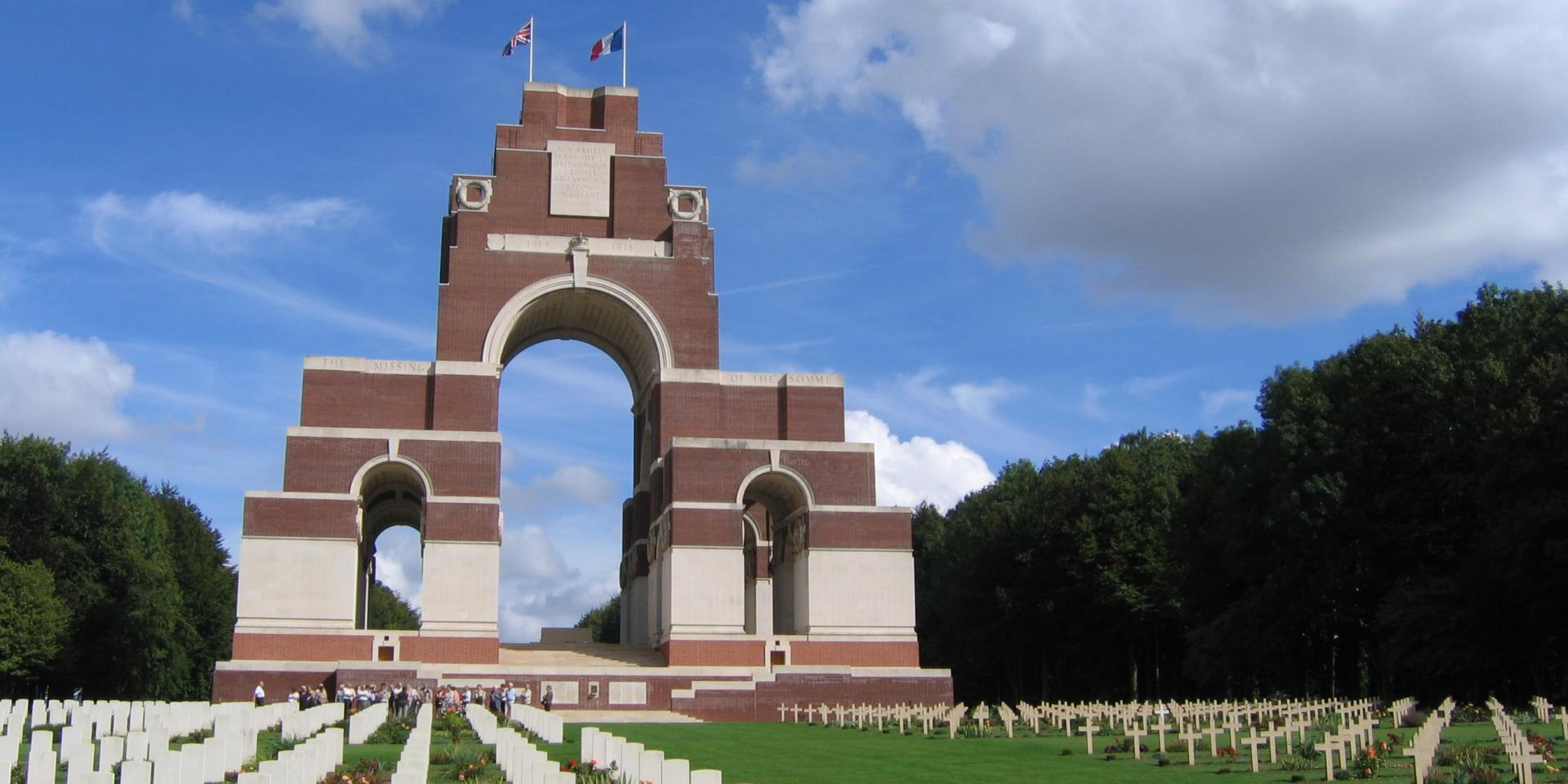 Thiepval Memorial and Anglo-French Cemetery