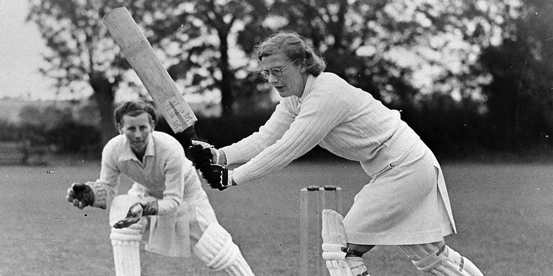 Auxiliary Territorial Service cricket match, 1943