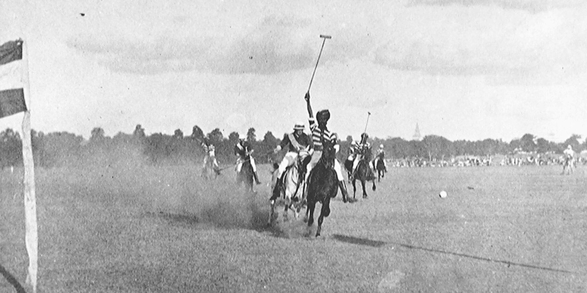 Secunderabad Polo Tournament, India, 1897