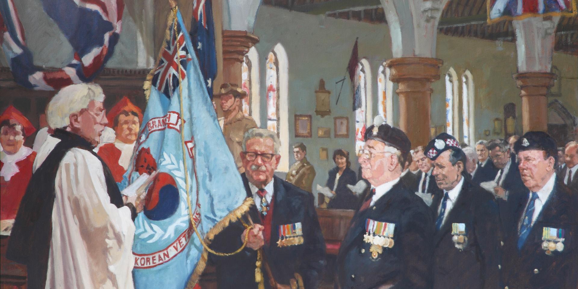 Dedication of the British Korean Veterans Association, Aldershot, 20 October 1996