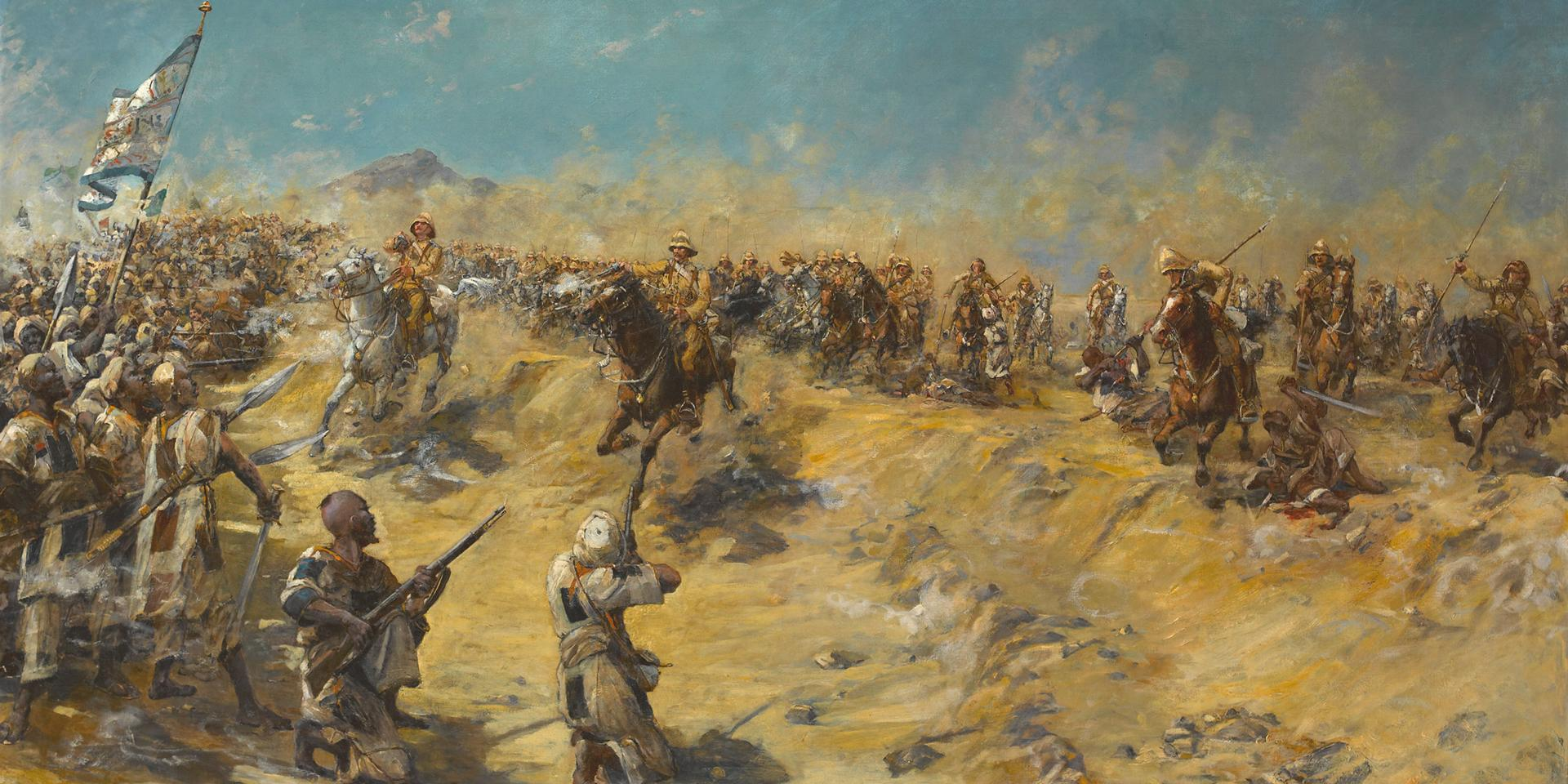 Charge of the 21st Lancers at Omdurman, 1898
