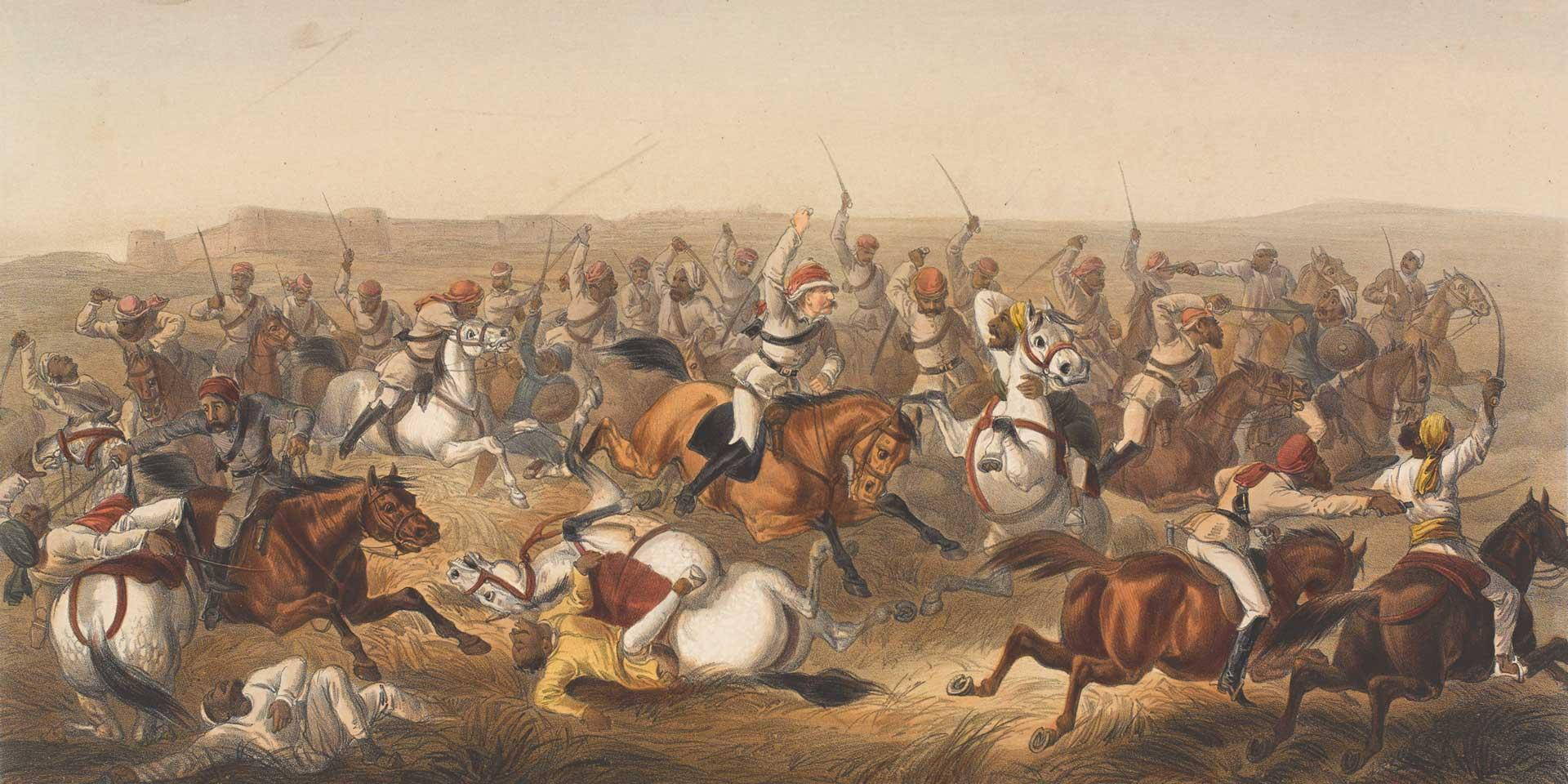 Hodson's Horse at Rhotuck, 1857