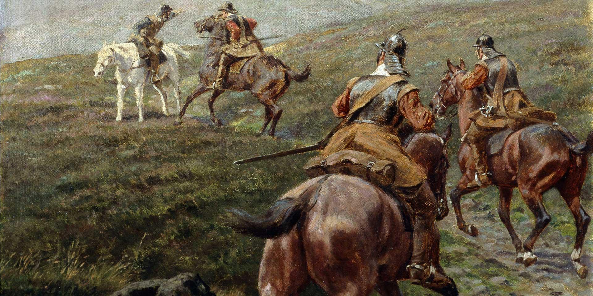 Horsemen of the New Model Army, c1645