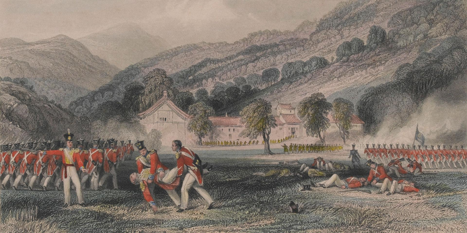 The death of Colonel Tomlinson, 1842