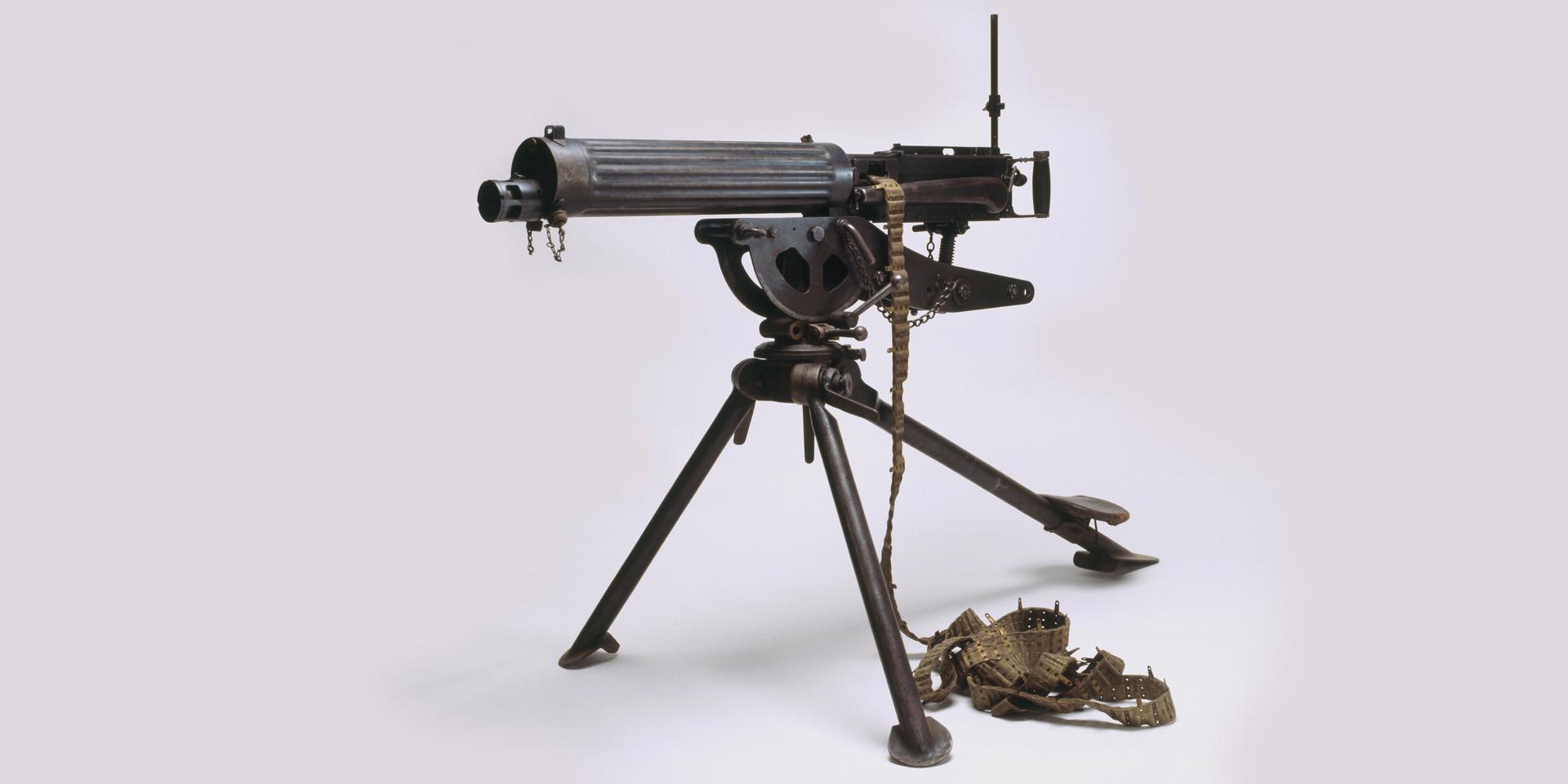 Vickers .303 in Class C medium machine gun, 1910