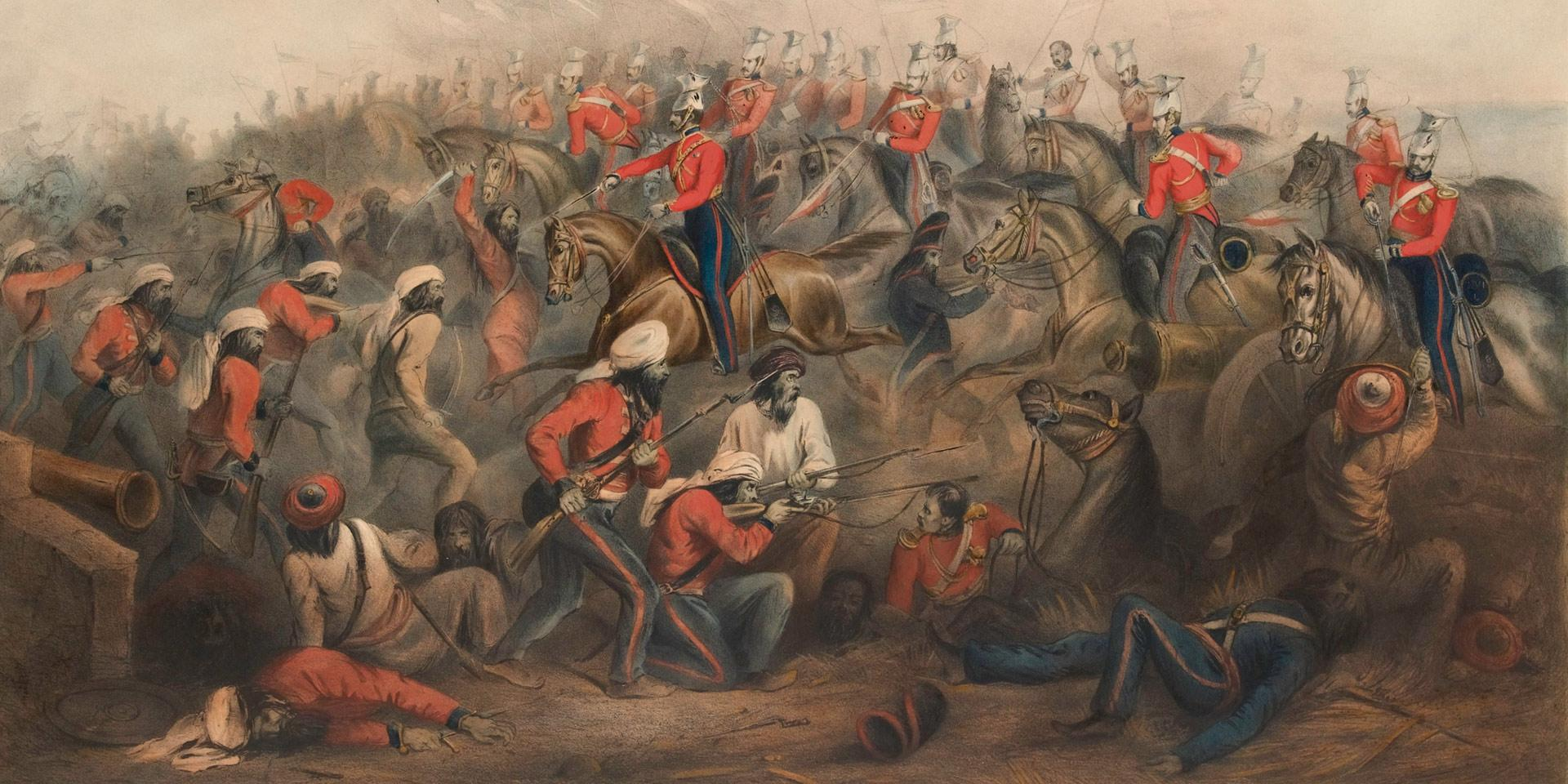 The Battle of Aliwal, 28 January 1846