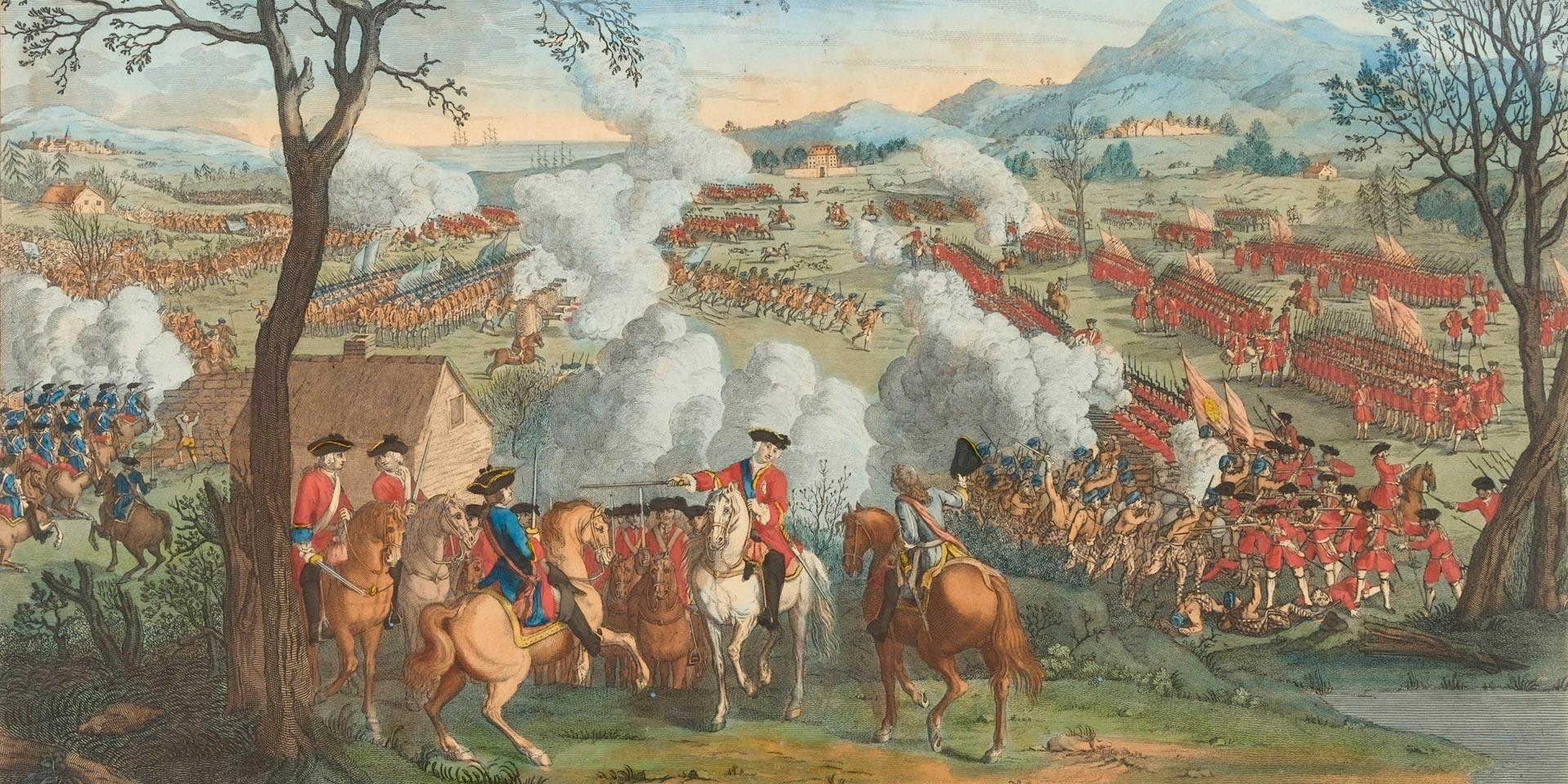 The Battle of Culloden, 16 April 1746