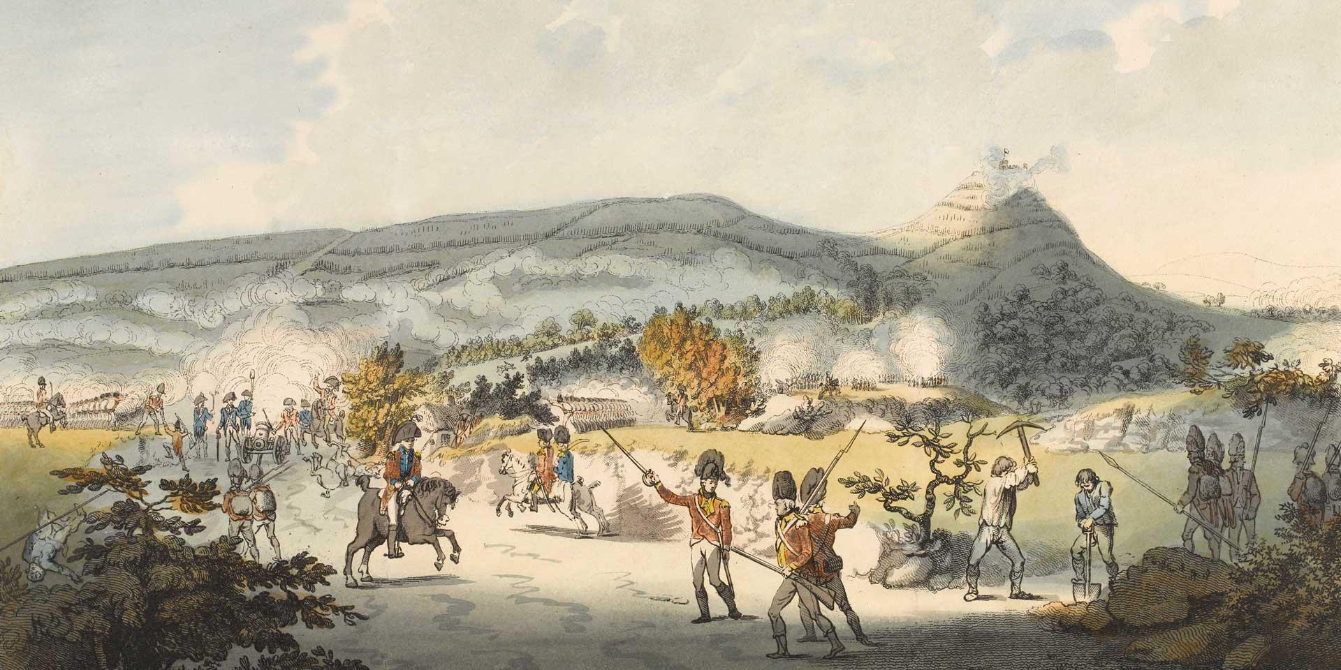 Battle of Vinegar Hill, 21 June 1798