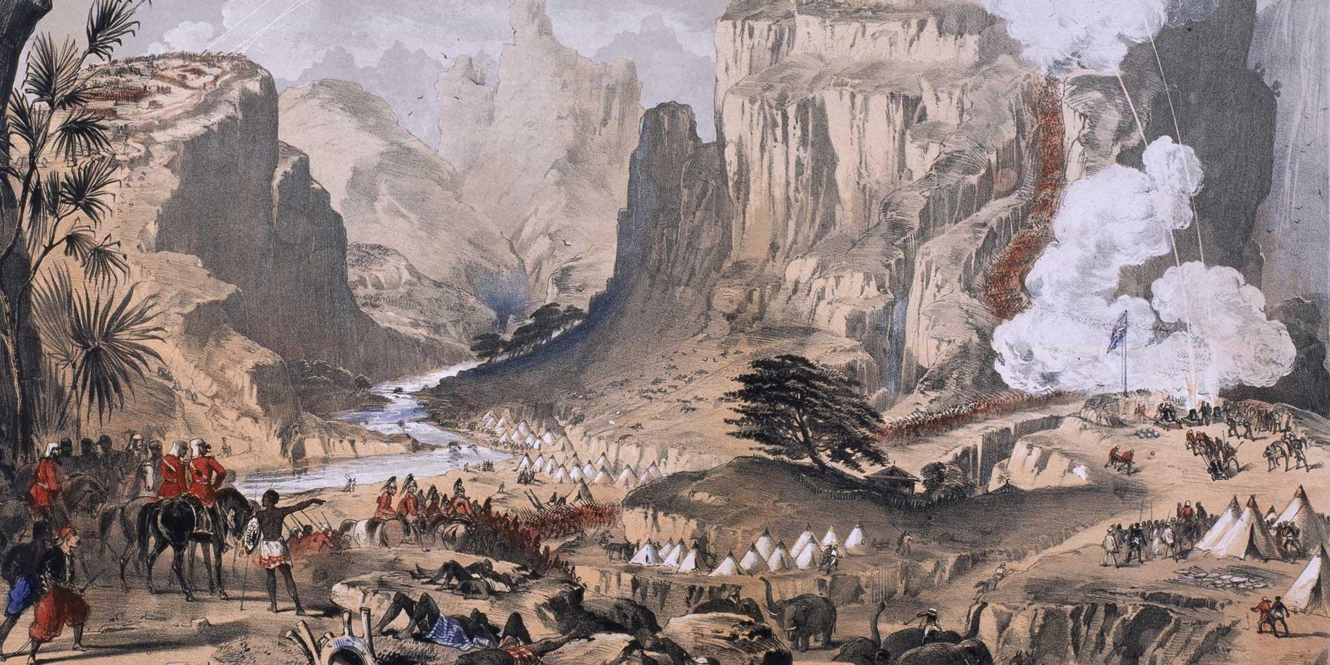 The storming of Magdala, 1868