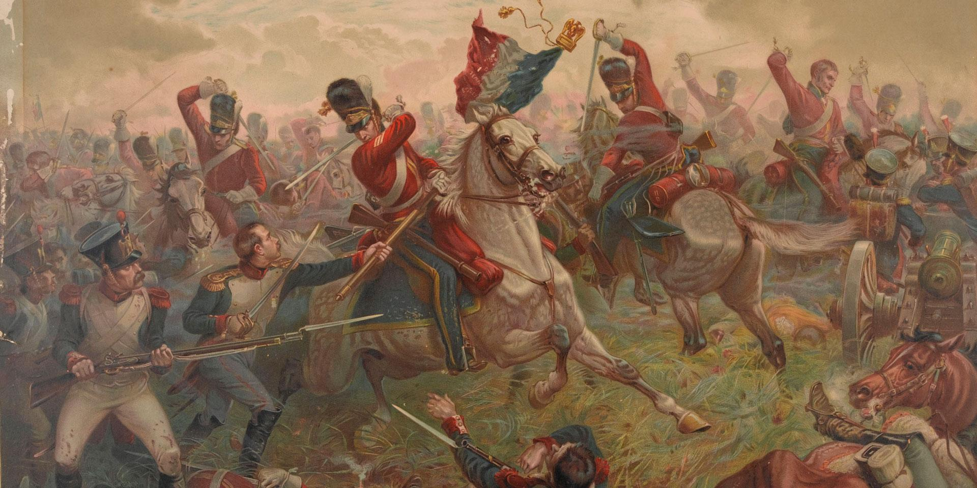 The Royal Scots Greys at Waterloo, 1815