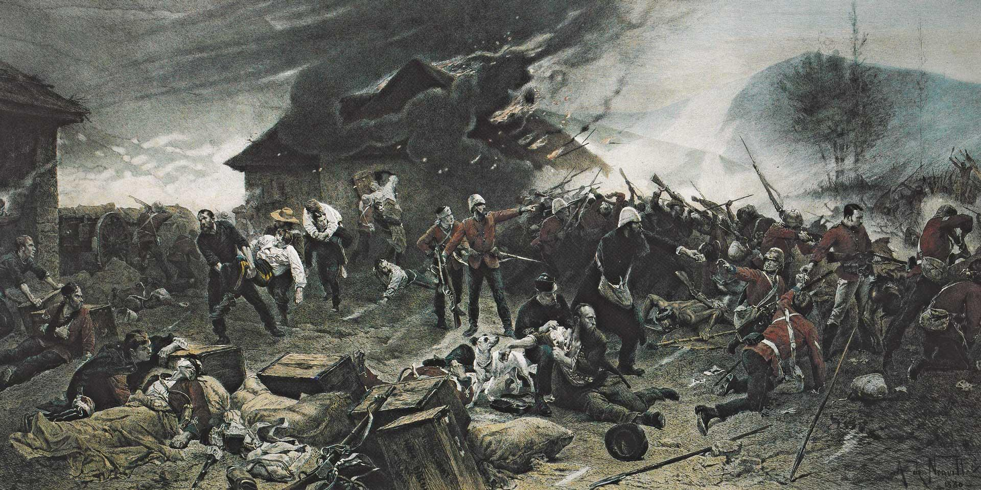 The defence of Rorke's Drift 22-23 January 1879