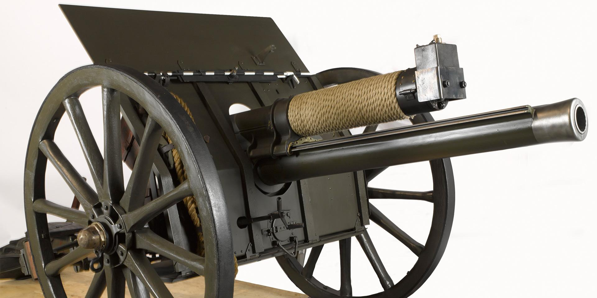 Ordnance, Quick Firing, 18 pounder field gun Mk I, 1906