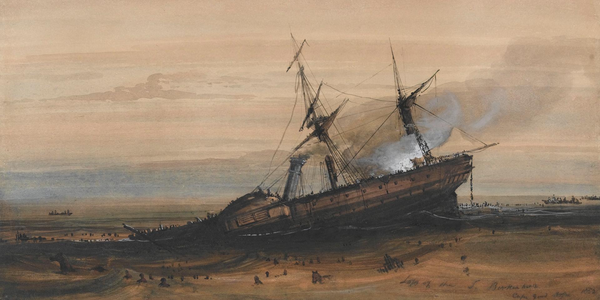 Wreck of HM Steamship 'Birkenhead', 1852