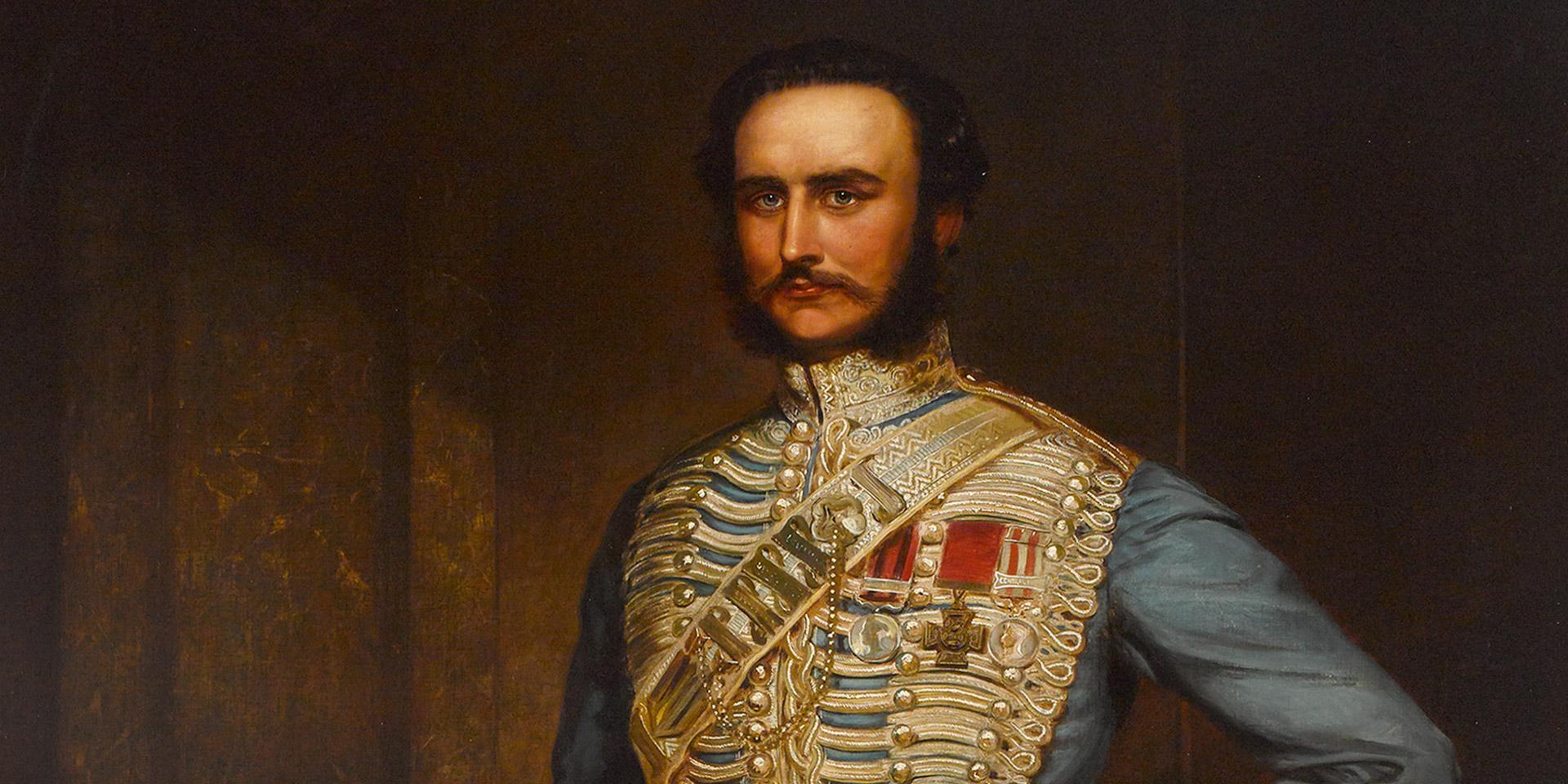 Captain John Grant Malcolmson VC, 3rd Bombay Light Cavalry, c1860