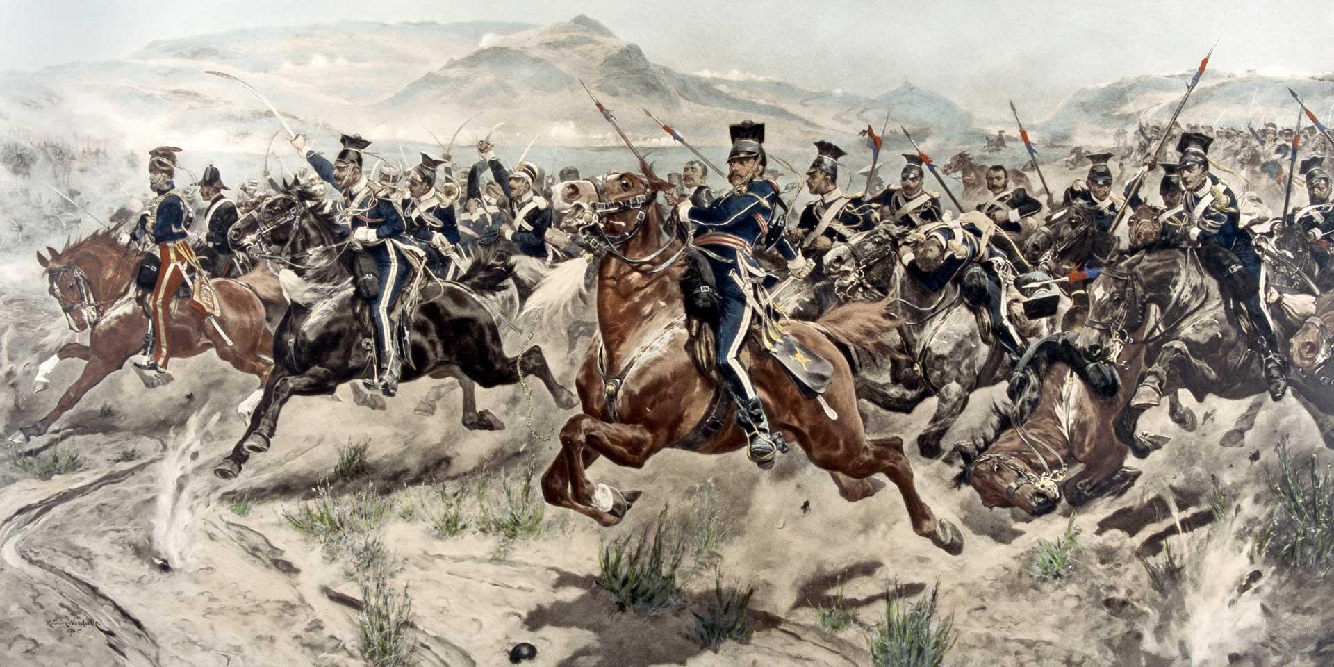 The 17th Lancers at Balaklava, 1854