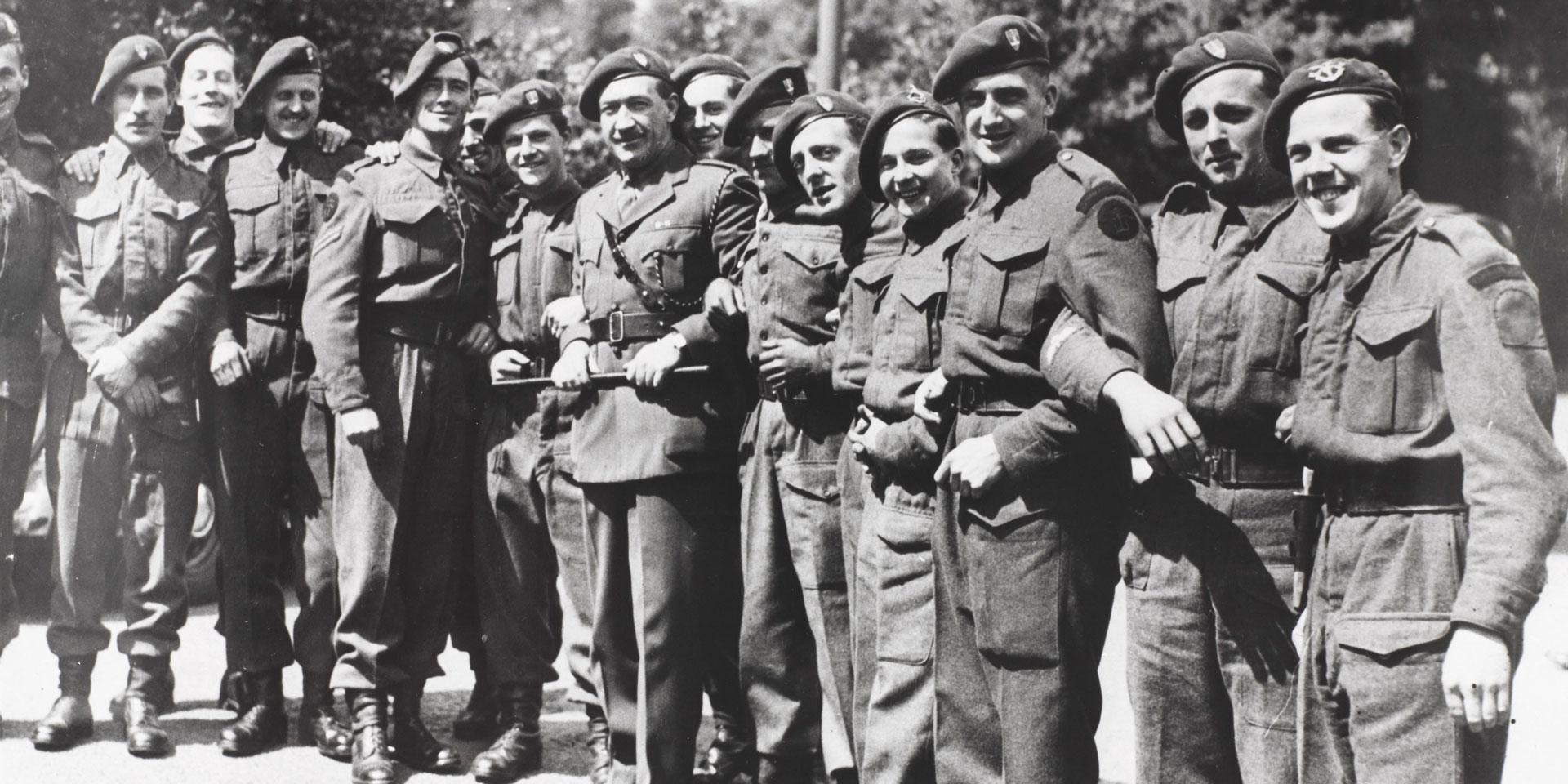 Members of the Special Boat Service at Hillhead, Hampshire, 1943