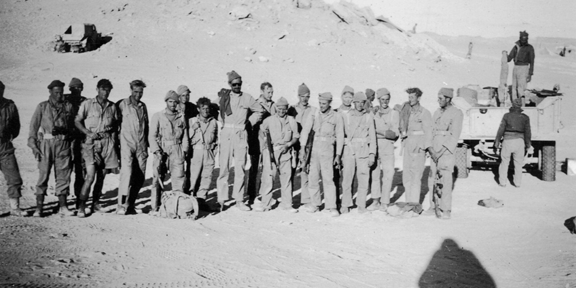 SAS survivors of Operation Squatter, November 1941