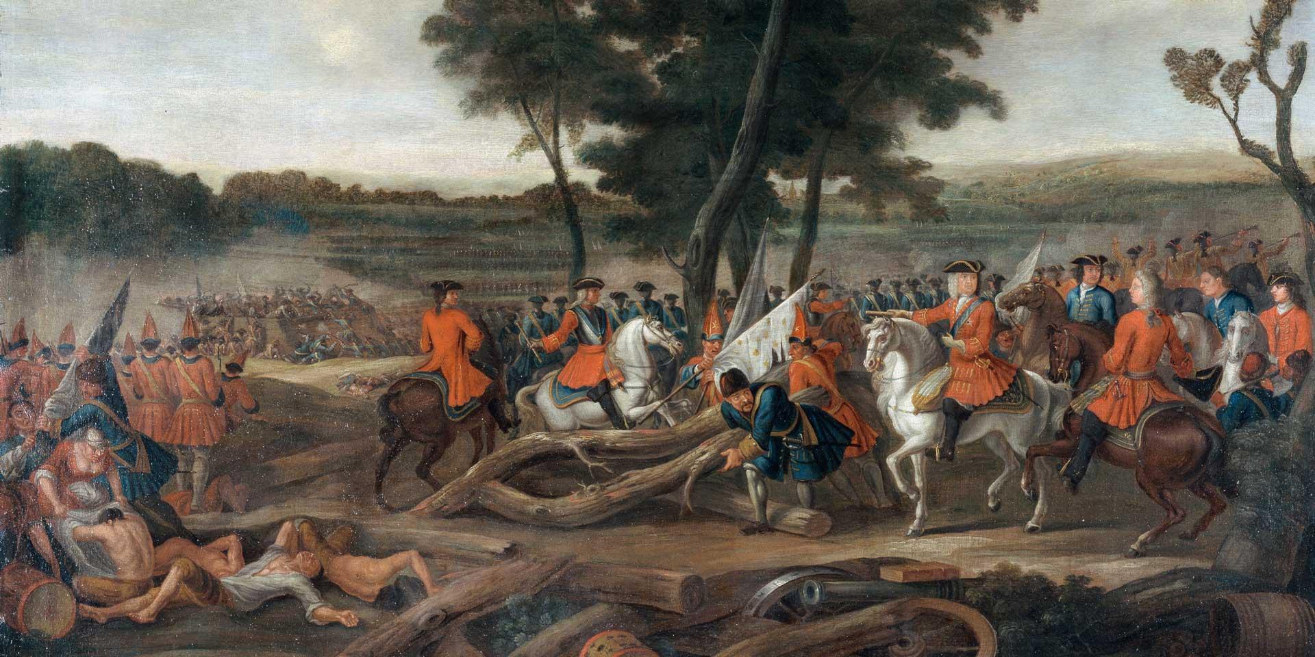 The Battle of Malplaquet, 1709