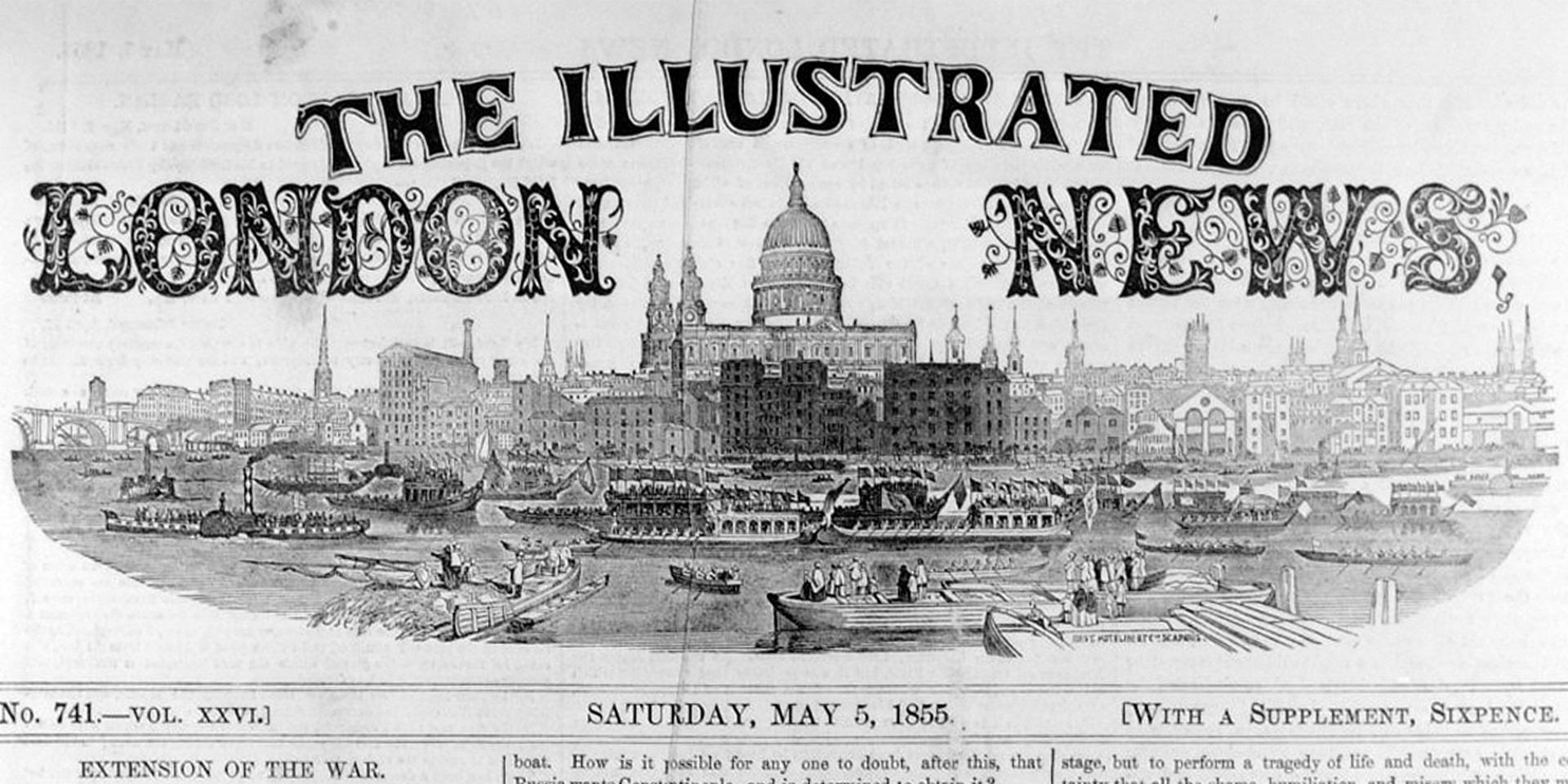 'The Illustrated London News', 5 May 1855